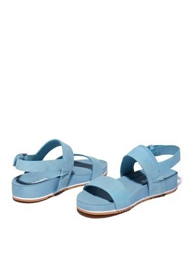 Timberland Timberland Kadın Mavi Sandalet Mavi